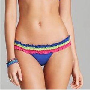 Beach Bunny Bikini Bottom Blue